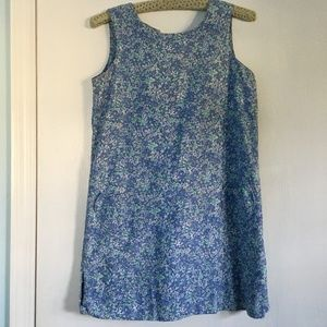 Vintage Lilly Pulitzer Cotton Mini Shift Dress